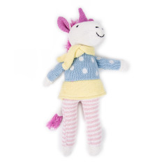 Weegoamigo Unicorn Knit Toy