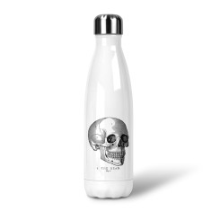 Vintage Skull Stainless Steel Drink Bottle