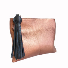 Classic leather clutch (various colours)