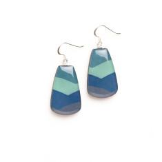 Petal earrings: freshwater