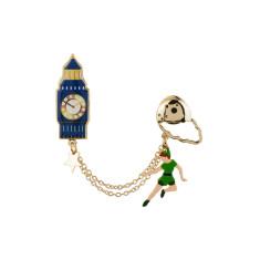Peter Pan & Big Ben pin