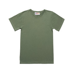 Boy's olive green t-shirt
