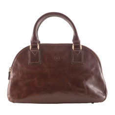 The Lilianas Ladies Leather Bowling Bag