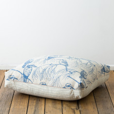 Kookaburra & Grass floor cushion