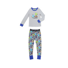 King of the Mushroom drop crotch pant pyjama set