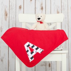 Personalised Superhero Baby Blanket