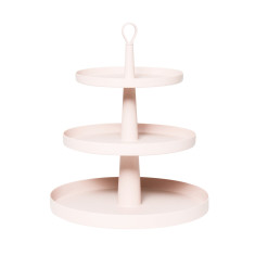 Tiers Cake Stand In Light Dusty Pink