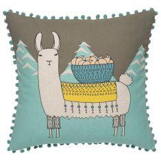 Llamarama Cushion