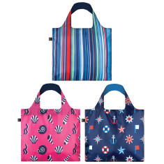 LOQI nautical collection reusable bag (various designs)