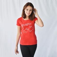 Prosecco Ho Ho Ho Womens Christmas T Shirt