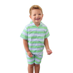 Dirty Harry green boy's pj set