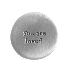 You Are Loved Pocket Coin