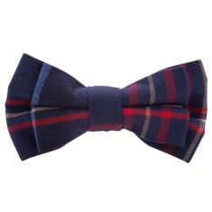Tartan Junior bow tie (various colours)