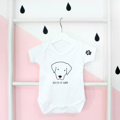 Personalised Kids' Dog Onesie Or Top