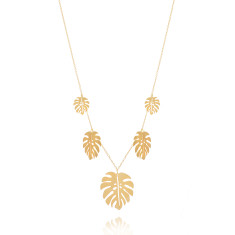Jungle Necklace Gold