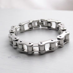 Bike Chain Stainless Steel Bracelet