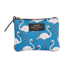 Woouf Pouch Small - Flamingo