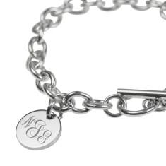 Stacey bracelet in rose gold or silver