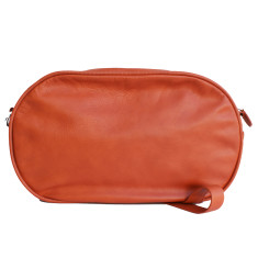 Leather Dasher Bag - Terracotta
