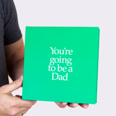 You're going to be a dad book with gift