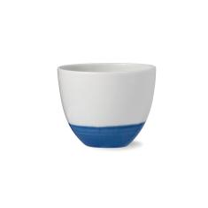 Dark blue coastal kyst cup (set of 2)