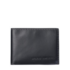 Felix leather wallet in charcoal
