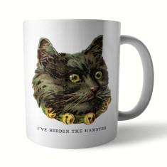 Naughty Kitty: Hamster Ceramic Mug
