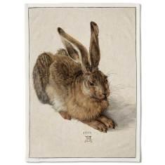 The Field Hare Tea Towel