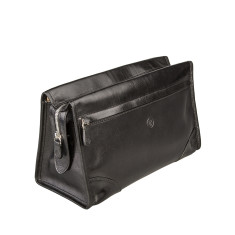 Tanta Luxury Large Leather Wash Bag
