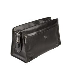 Tanta Luxury Large Leather Wash Bag