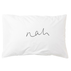 Yeah nah double sided pillowcase