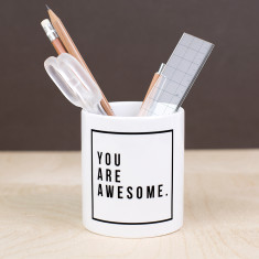 You Are Awesome Desk Tidy