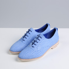 Frankie suede leather oxford shoes