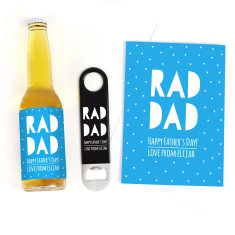 Personalised RAD DAD Father's Day Gift Pack