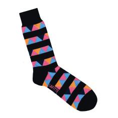 Lafitte black triangle socks