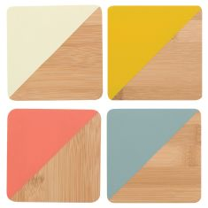 Bamboo Coasters Sienna (set of 4)