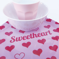 Sweetheart dinner set