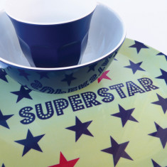 Superstar dinner set