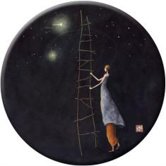 Ladder To The Stars pocket mirror