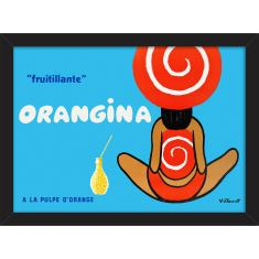Orangina Fruitillante Print