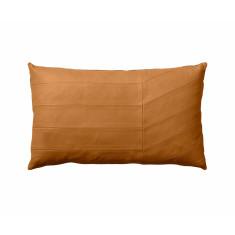 AYTM Coria Amber Leather Cushion
