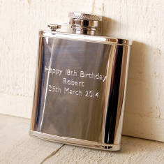Personalised Small Pocket Hip Flask