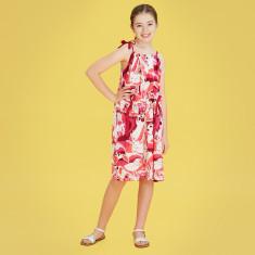 Kids' poppyfield floaty dress