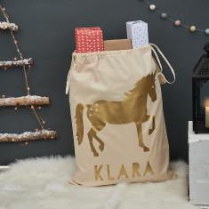 Personalised Unicorn Christmas Sack