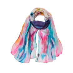 Rainbow dream cloud scarf