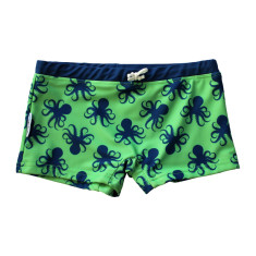 Boys' swimshorts in Octopus Botanica