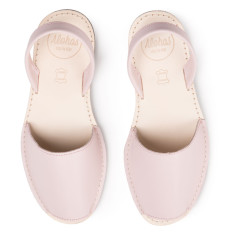Alohas Pastel Pink Leather Sandal