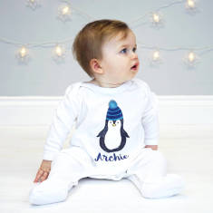 Personalised Penguin Onesie