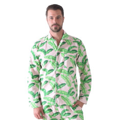 Tropical punch men's pj shirt