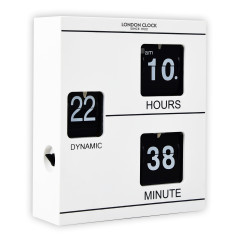 London Clock Company Klikk Flip Wall Clock